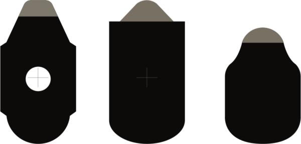 combi hydro lens edging pads