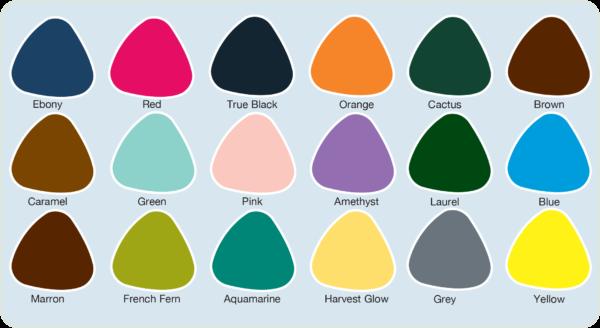 shades eco-bag colours